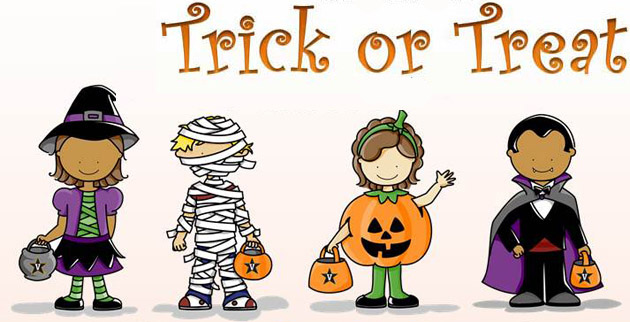 Family Meet-up trick or treat