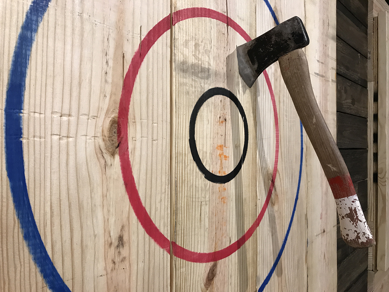 Autism Teen Group Axe Throwing Event